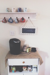 sweet coffee station